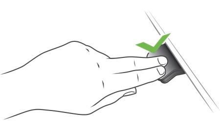Mantenga pulsado el DPG1K para mover el escritorio hacia abajo