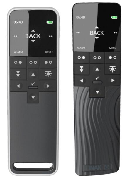 Das Display der HC40 Advanced. Es öffnet sich für noch mehr Funktionen.