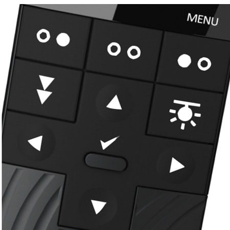 Backlight in buttons and adaptable display light in the HC40 Advanced