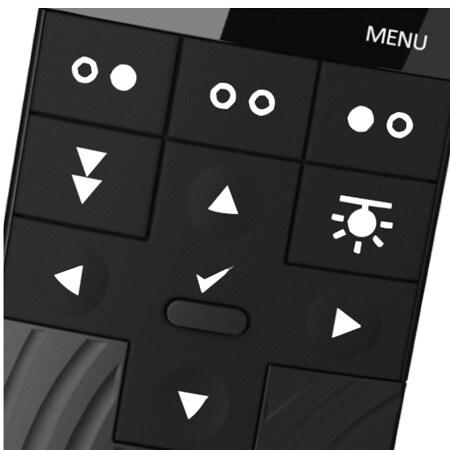 Hintergrundbeleuchtung der Tasten und einstellbare Display-Helligkeit auf der HC40 Advanced