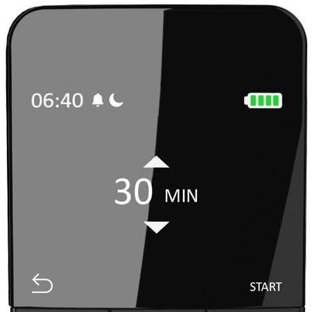 Sleep timer in the HC40 Advanced