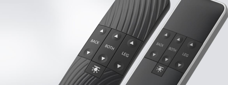 Ediciones Standard del mando de control HC40 para camas regulables