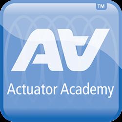 Logo della LINAK Actuator Academy