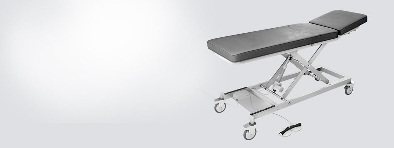 Koltuklar ve masalar için MEDLINE & CARELINE sistemleri