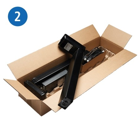 Zestaw Desk Frame 1 Setpack