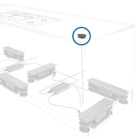 LINAK Baselift system