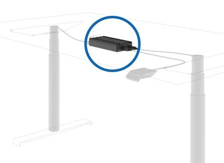 DESKINEインライン型電動昇降装置システム CBD6S