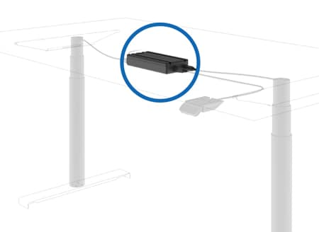 DESKLINE-inline-nostopilarijärjestelmä CBD6S