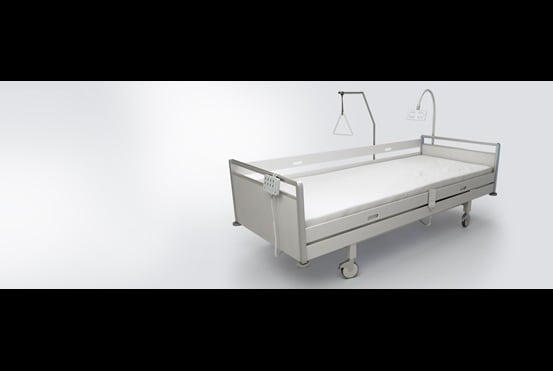 Sistema de camas em casas de repouso MEDLINE & CARELINE