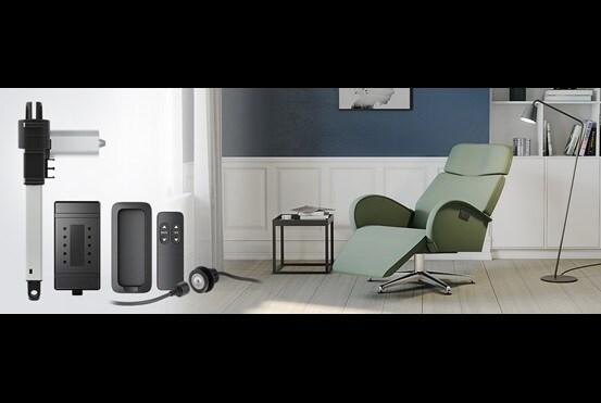 Sistema de mueble reclinable de pedestal