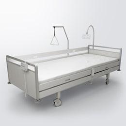 MEDLINE & CARELINE bakımevi tipi hasta tedavi yataklarına yönelik sistemler