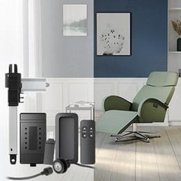 Pedestal recliner system