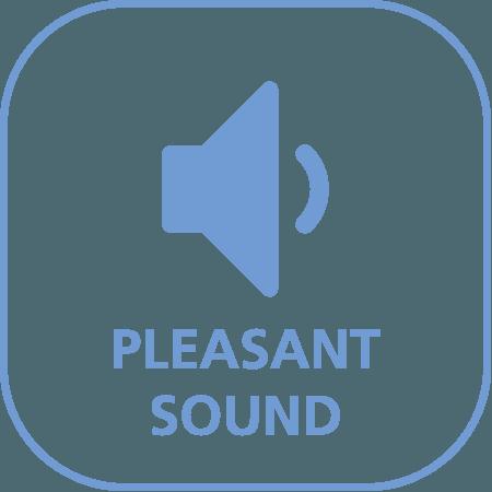 Aangenaam geluidsniveau