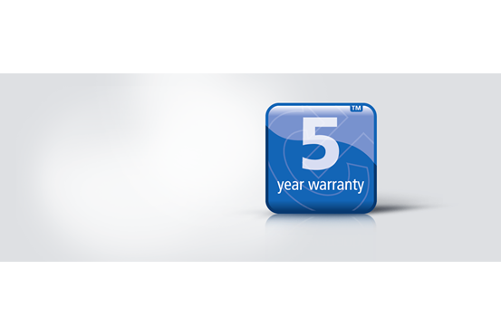 5-year warranty Tech and Trends