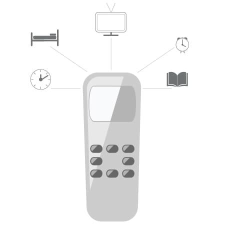 Los usuarios piden todavía más funciones en sus mandos de control para camas regulables.