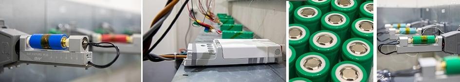 Il centro di collaudo LINAK per le batterie