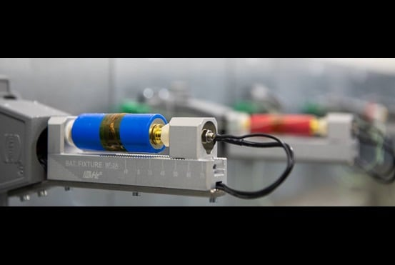 Battery testing at LINAK