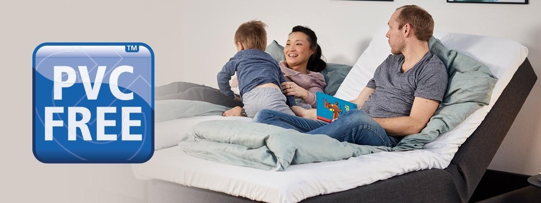 Cree un dormitorio sin PVC con actuadores LINAK para mobiliario regulable