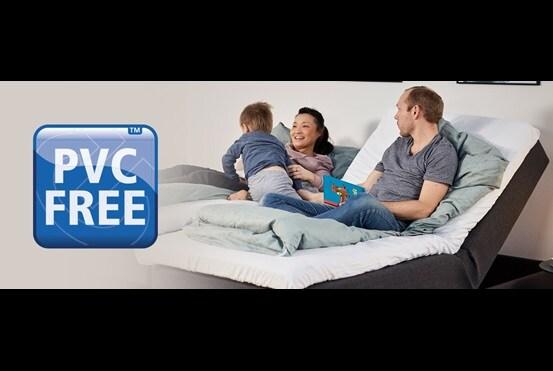 Creëer een PVC-vrije slaapkamer met actuatoren van LINAK voor comfortmeubels