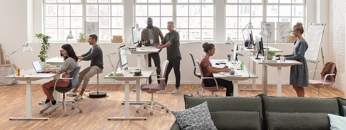 Digital solutions to improve office work spaces