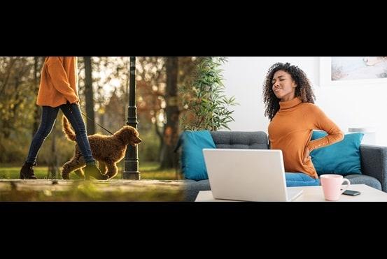 Husk at få den gode ergonomi med hjem fra kontoret!