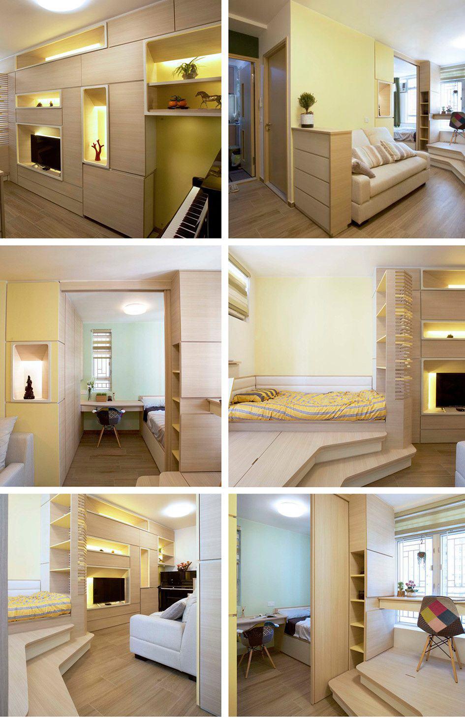 Collection tendances Micro-appartements– Hong Kong