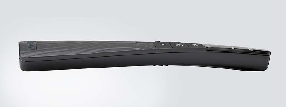 Die HC40 TWIST™ Advanced in der Seitenansicht – in der die in sich verdrehte Form herausgestellt wird.