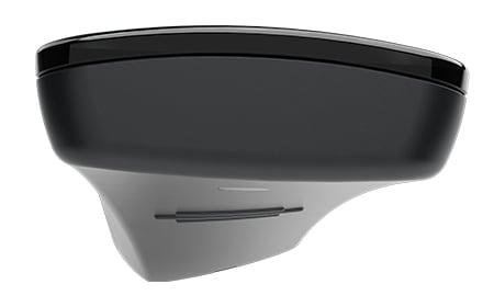 Сверху видна уникальная изогнутая форма пульта HC40 TWIST™.