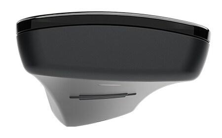 Ovladač HC40 TWIST™ při pohledu shora odhaluje jedinečný prohnutý tvar.