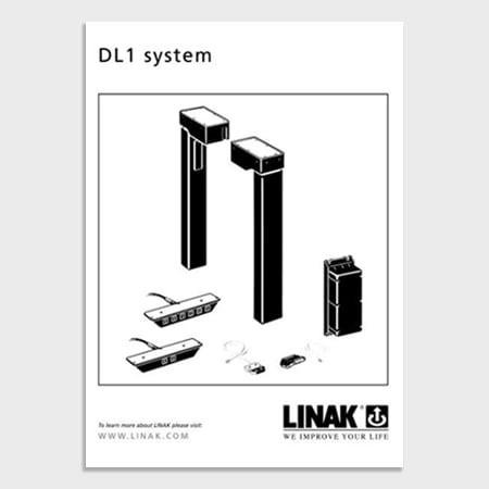 史上初のデスク向け電動昇降システム:コントローラー、コントロールボックス、電動昇降装置- by LINAK