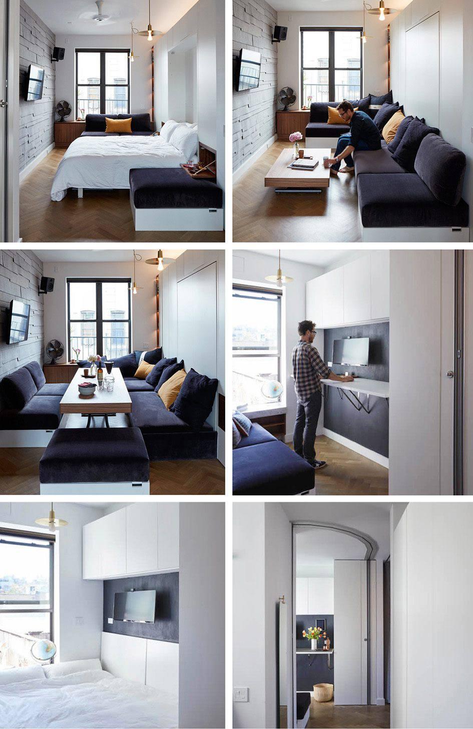 Trend series Micro apartments, New York
