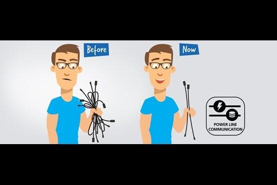 Powerline-kommunikation är en teknik som används i LINAK system i vilstolar