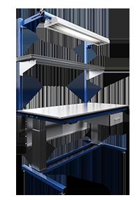 高さ調整可能な作業台