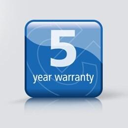 5-year warranty Tech and Trends DESKLINE