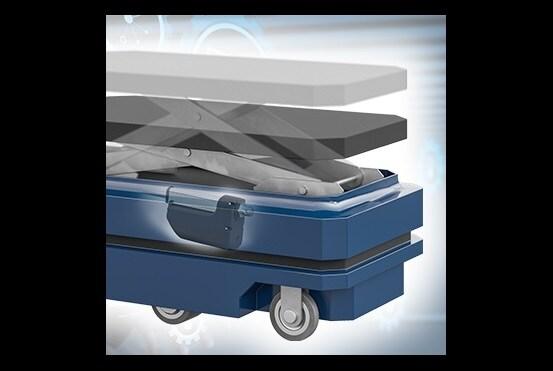 AGV's voor automatisering van materialenverplaatsing