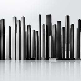 Sylwetka kolumn podnoszących do biurek z regulacją elektryczną