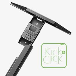 Kick & Click Technologie a trendy DESKLINE