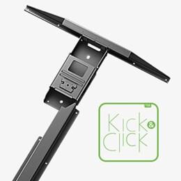 Kick and Click Tech and Trends DESKLINE