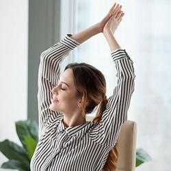 Make office workers stay active and healthy