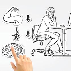 Movimente-se para sua saúde DESKLINE - Tecnologia e Tendências