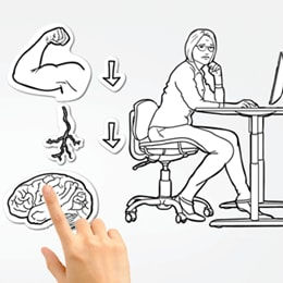 Stand up for your health - Tech and Trends DESKLINE