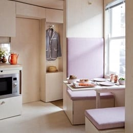 Collection tendances micro-appartements