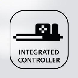 El uso de controladores integrados para camas regulables