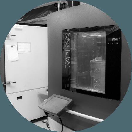 Klimaprüfungen – Temperatur und Feuchtigkeit