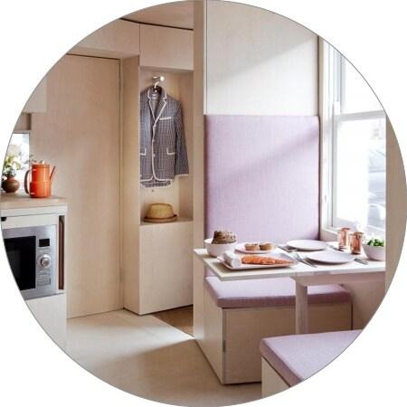 Micro-appartementen, Trendserie- Londen