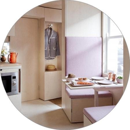 Collection tendances Micro-appartements – Londres