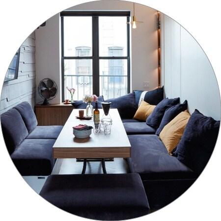 Micro-appartementen, Trendserie - New York