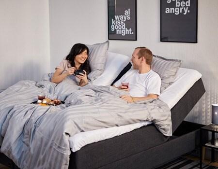 Hvorfor du bør velge en justerbar seng
