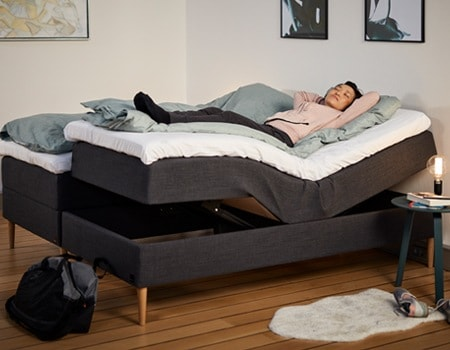 Por que escolher uma cama regulável