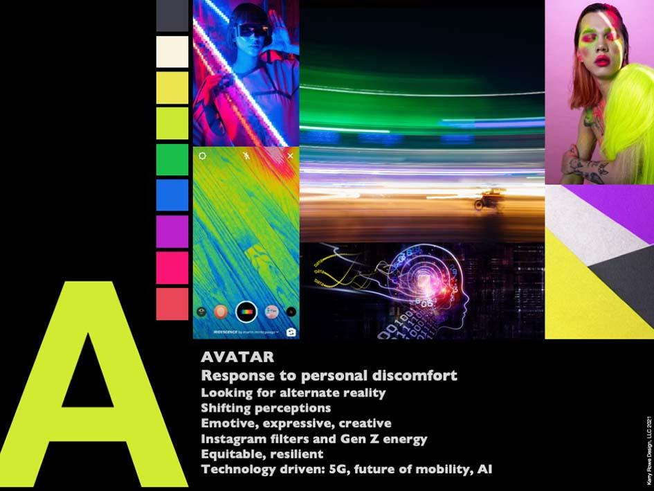 Avatar color trend.